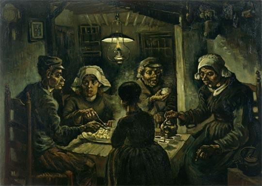 van-gogh-los-comedores-de-patatas-1885