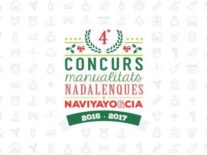 4º Concurs de Manualitats de Nadal NaviYayo & Cia 2016-2017